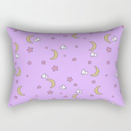 Cute Kawaii Fairy Kei Sailor Moon Bedspread Rectangular Pillow
