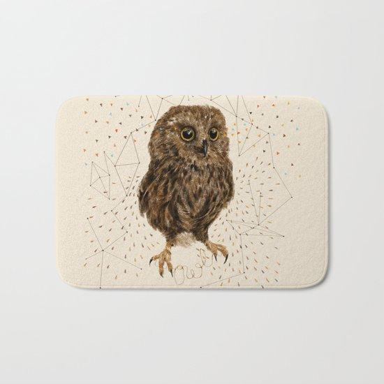 Mr.Owl IV Bath Mat