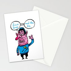 the wars are not the only way, there is the trek too Stationery Cards