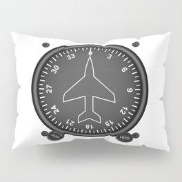Directional Gyro Flight Instruments Pillow Sham