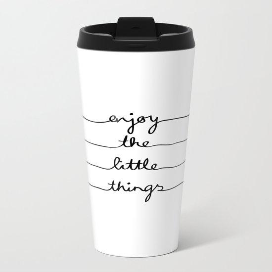 Little Things Metal Travel Mug