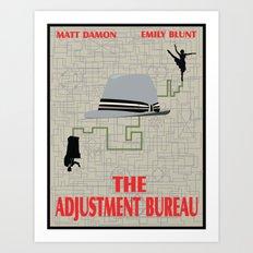 The Adjustment Bureau Art Print
