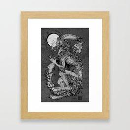 the solipsist Framed Art Print