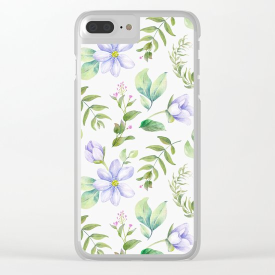 Spring is in the air #54 Clear iPhone Case
