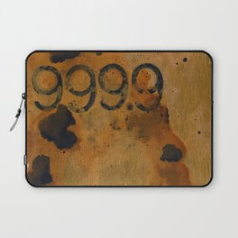 Numeric Values: Gold Standard Laptop Sleeve