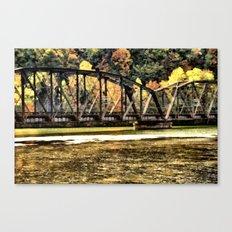 West VA Train Bridge Canvas Print