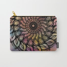 Wheeler Mandala Carry-All Pouch