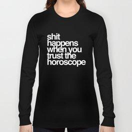Horoscope Long Sleeve T-shirt