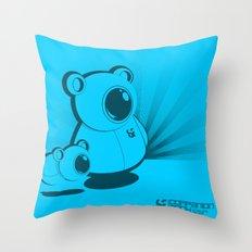 SF Companion Mech Throw Pillow