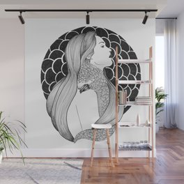 Spirit Animal: The Pangolin Wall Mural