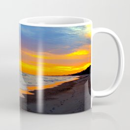 Serene Beach Sunset Coffee Mug