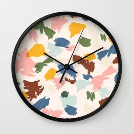 Scribbles   Candy Wall Clock