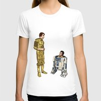 c3po T-shirts featuring C3PO & R2D2 by joshuahillustration