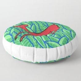 Red deer Floor Pillow