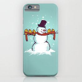 Sharing is caring (Winter edition) iPhone Case