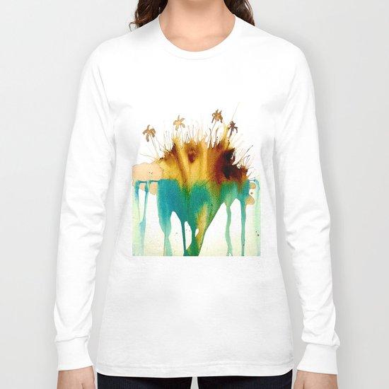 Coffee Island Long Sleeve T-shirt