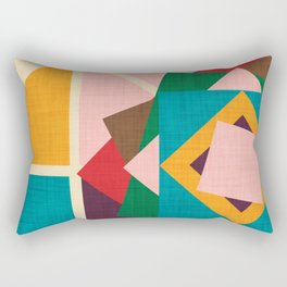 wind rose Rectangular Pillow