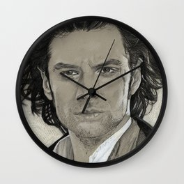 Aidan Turner: Poldark Wall Clock