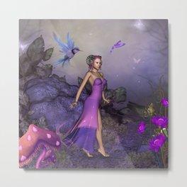 Wonderful fantasy women Metal Print