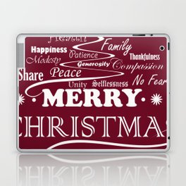 The Wishing Christmas Tree Laptop & iPad Skin