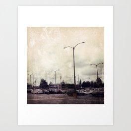 Urbania Two Art Print