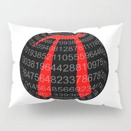 Pi Isolated Sphere Pillow Sham