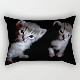 Brother kittens  Rectangular Pillow
