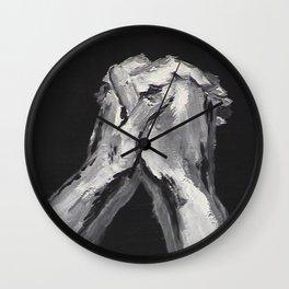 Abstract Prayer by Robert S. Lee Wall Clock