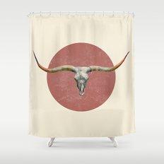 Longhorn - colour option Shower Curtain