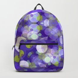 Purple Abstract Bubble Design SB9 Backpack