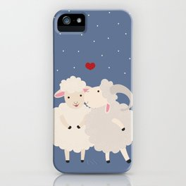 Sheep Series [SS 01] iPhone Case