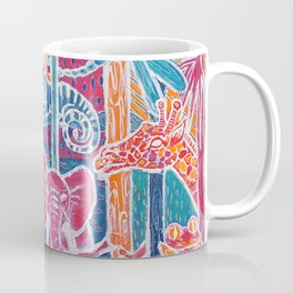 Animal Neon Jungle Coffee Mug