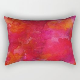 Crimson Rectangular Pillow