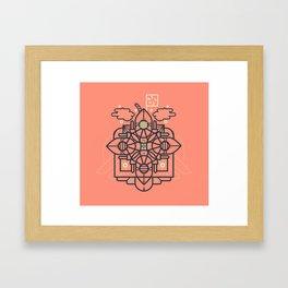 Vapor Framed Art Print