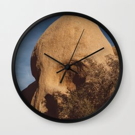 Skull Rock II Wall Clock