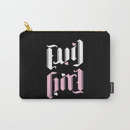 Evil Girl Ambigram Carry-All Pouch