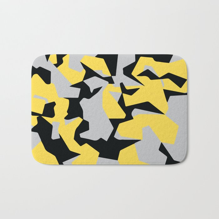 Search products, artworks and themes Yellow CAMO, Keep your stuff hidden in plain sight! Bath Mat