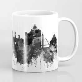 Bologna Italy Skyline BW Coffee Mug