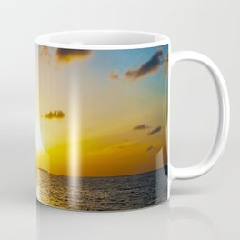 Seashore Serenity at Sunset Coffee Mug
