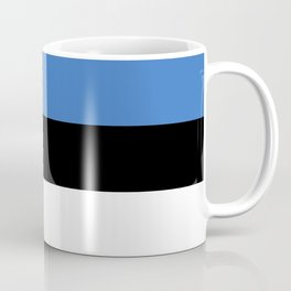 Flag of Estonia - Estonian,Eest,Baltic,Finnic,Sami, Skype,Arvo Part,Tallinn,Tartu, Narva,Snow, Cold Coffee Mug