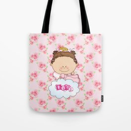 Baby Rose Is a Angel Tote Bag