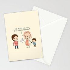 Dibuja horrible Stationery Cards