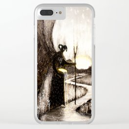 Hæling Forescýwa (Healing Shadow) Clear iPhone Case