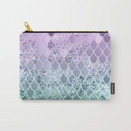 Mermaid Glitter Scales #1 #shiny #decor #art #society6 Carry-All Pouch