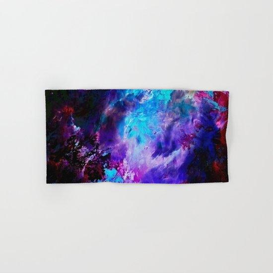 Space Flowers Hand & Bath Towel