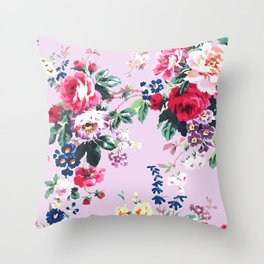 Bouquets with roses 2 Throw Pillow