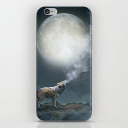 The Light of Starry Dreams iPhone Skin