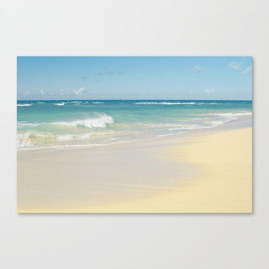 Beach Love the Secret Heart of Wonder Canvas Print