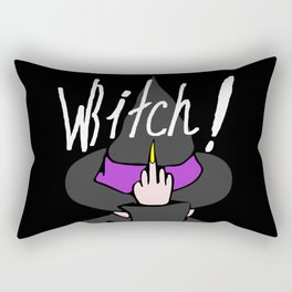 WBITCH! Rectangular Pillow