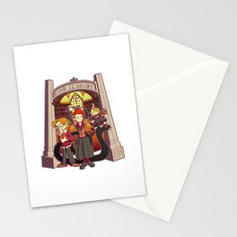 The World is Quiet Here Stationery Cards